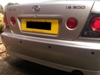 4 rear eye parking sensors (Not colour coded)