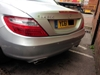 Colour coded parking sensors (Crawley store)