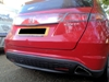 Rear parking sensors, colour coded using our mobile service