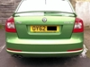 Colour coded parking sensors (installed at our Redhill store)